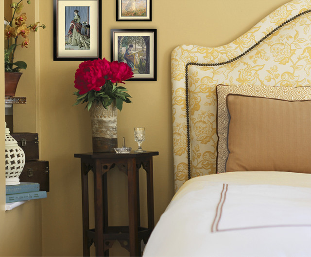 Country Chic Master Bedroom Traditional Bedroom San
