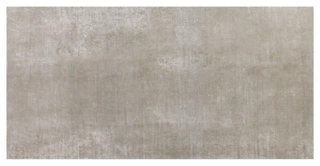essential 12 x24 porcelain field tile grigio