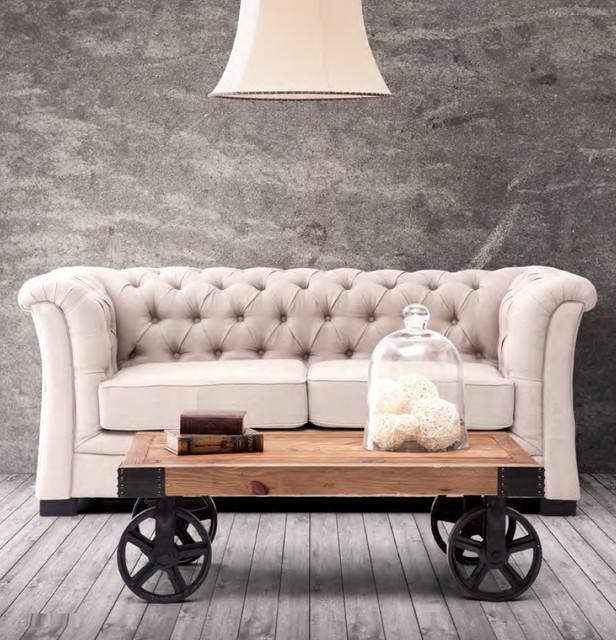Industrial Loft Living Room