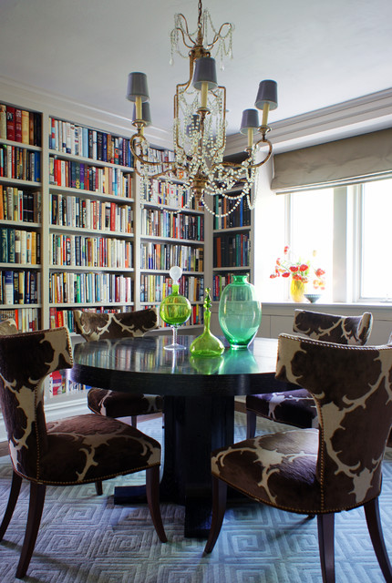 A Modern Gem eclectic-dining-room
