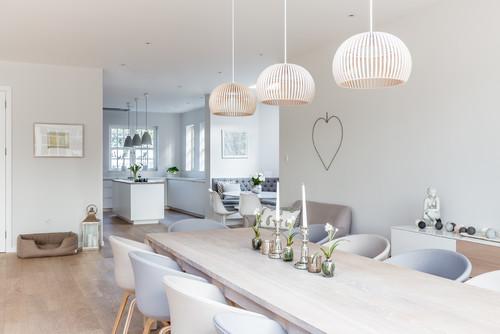 Sleek Scandinavian kitchen style