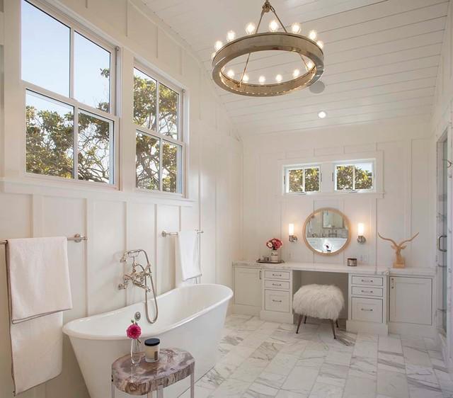 Modern farmhouse - Farmhouse - Bathroom - san francisco ... on Modern Farmhouse Bathroom  id=94128