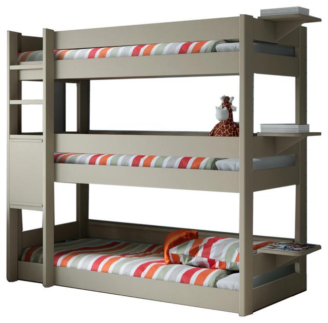 Triple Tier Bunk Bed Novocom Top