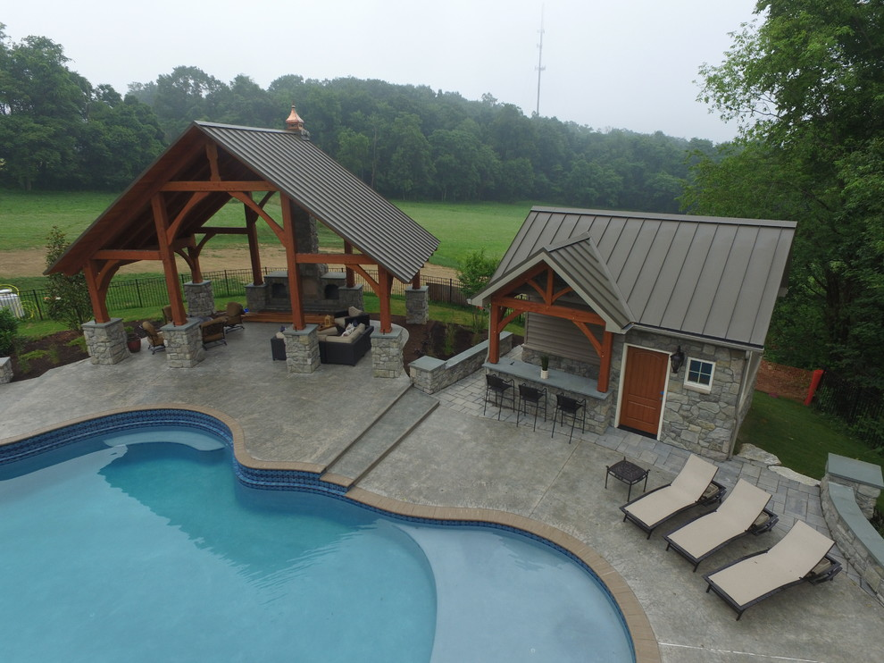 The Complete Outdoor Living Package - Pool - Other - by C ... on Complete Outdoor Living id=93813