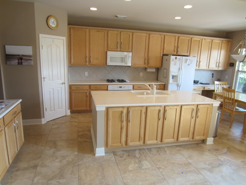 Help picking granite for light maple cabinets on Light Maple Kitchen Cabinets With Granite Countertops  id=38808