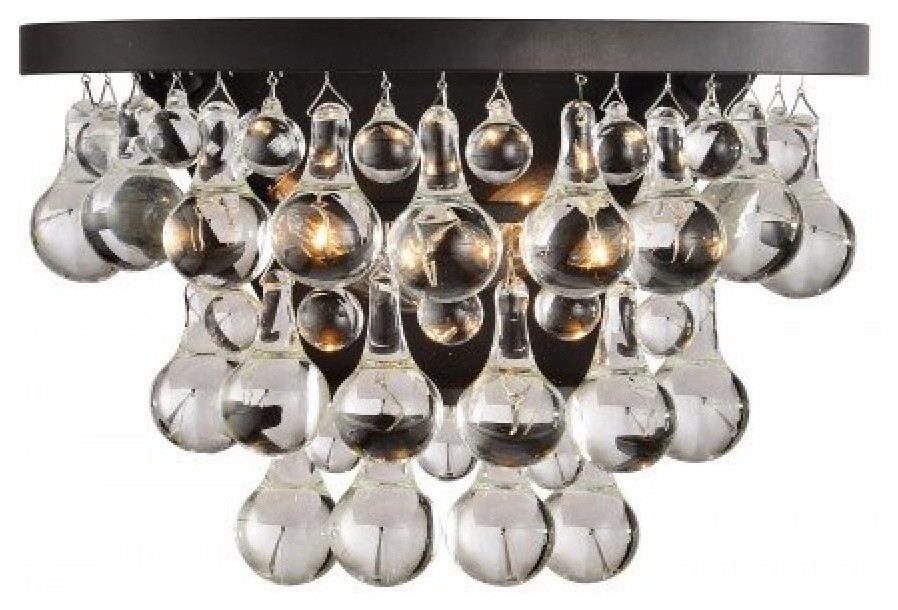 Matteo Lighting CRYSTAL FRUIT VACIO Series Crystal Sconce ... on Ultra Modern Wall Sconces id=49099