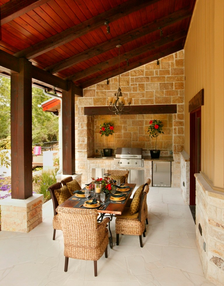 Southern Living Idea House 2006 - Farmhouse - Deck ... on Southern Outdoor Living id=58815