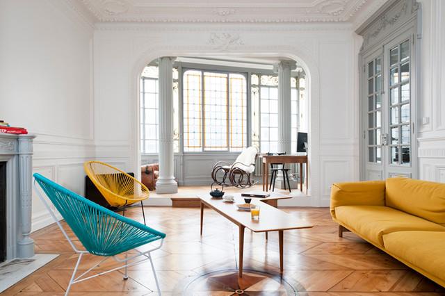 Rnovation Dun Appartement Haussmannien Contemporain