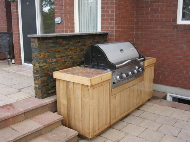 Grilling Station - Traditional - Deck - Ottawa on Patio Grill Station id=81696