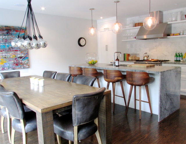 My Houzz: The Richards' Re-build contemporary-kitchen