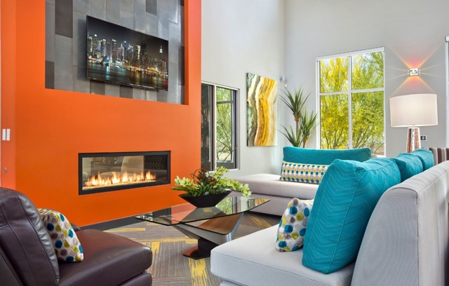 Residential Work contemporary-living-room