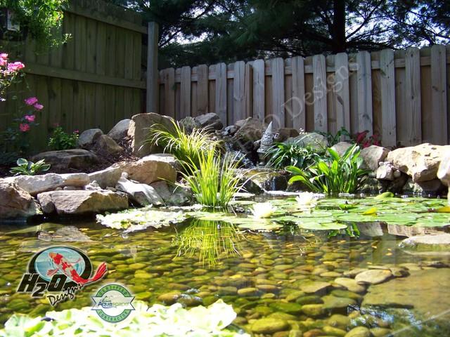 KOI Pond, Backyard Pond & Small Pond Ideas for your ... on Backyard Koi Pond Designs  id=96415