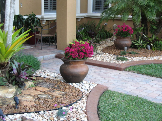 Outdoor Rock Landscaping Ideas