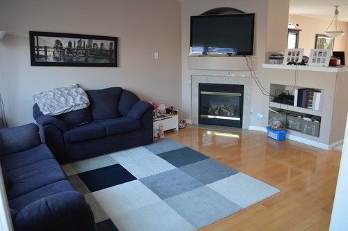 Sofa Placement On Rug Brokeasshome Com