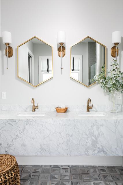 50 Miroirs De Salle De Bains En Mettent Plein La Vue