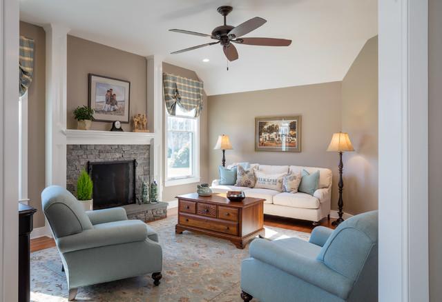 Seaside Transformation traditional-living-room