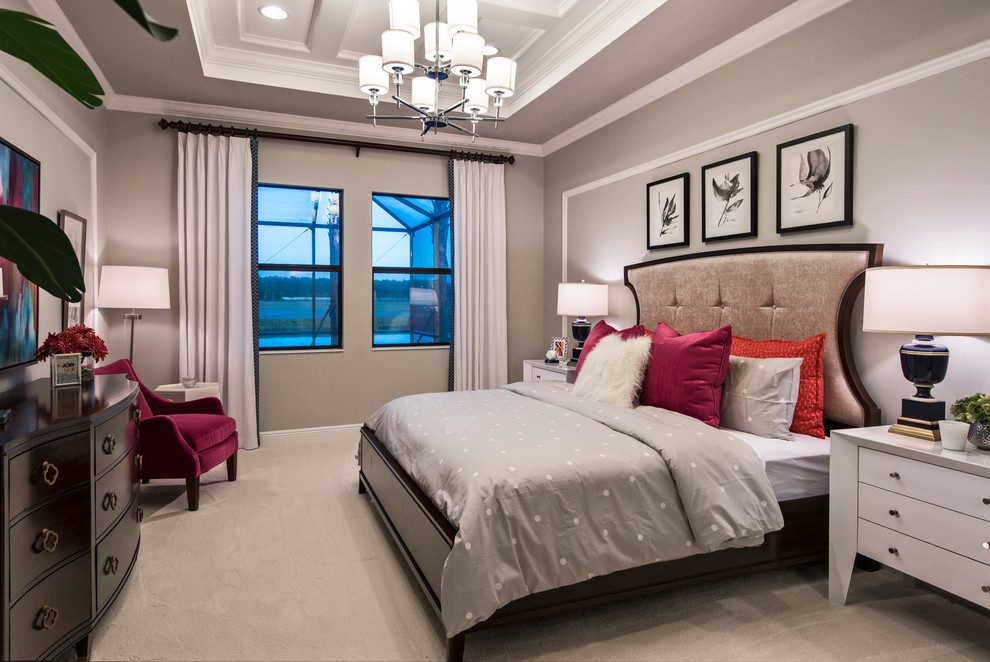 "Beauty In Fort Myers: The ""Boretto"" Model Home Design ... on Model Bedroom Ideas  id=67987"