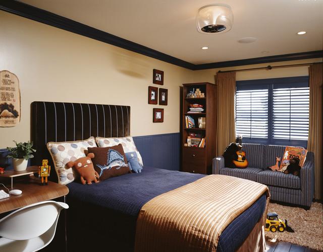 Contemporary Boy's Bedroom - Contemporary - Kids - Los ... on Beige Teen Bedroom  id=12005