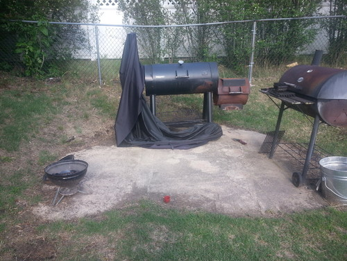 Help with Backyard Grill area. Need to make this look better! on Patio Grilling Area  id=91663