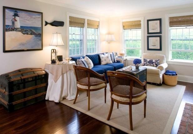 Nantucket Ma Traditional Living Room Boston By Beach