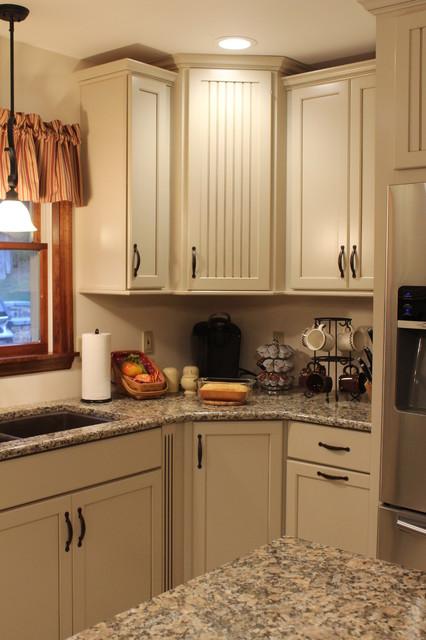 Kraftmaid AlexisBriarwood Maple Mushroom Kitchen Transitional Kitchen Baltimore By