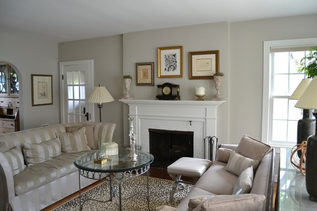 1930 S Cottage Eclectic Living Room Chicago