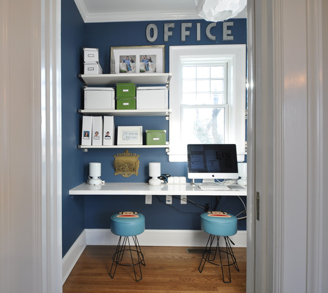 Two Story Addition eclectic-home-office