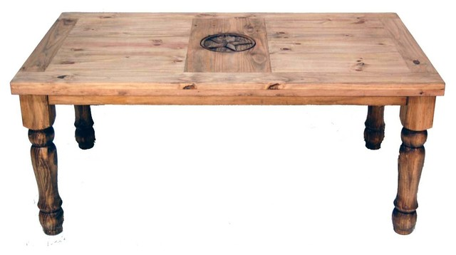 5' Table With Texas Star Detail