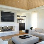 Tv Cabinet Above Fireplace Houzz