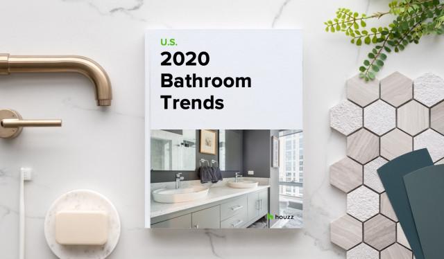 2020 u s houzz bathroom trends study