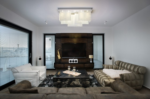 Plice Chandelier Modern Living Room