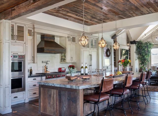 Luxury Ranch Property - Farmhouse - Kitchen - Seattle - by ... on Luxury Farmhouse Kitchen  id=56317