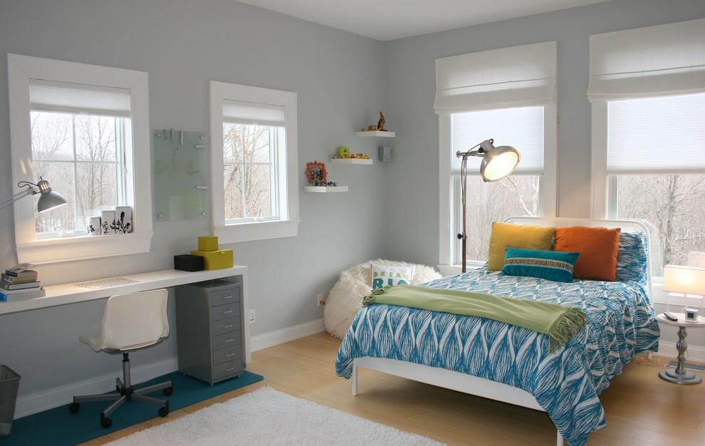 Teen Room - Transitional - Kids - New York - by LJL Design llc on Beige Teen Bedroom  id=59700