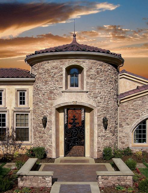 Italian Villa Home Coronado Manufactured Stone