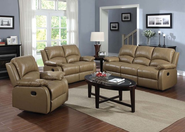 Top Grain Leather Reclining Sofa Loveseat Rocker Recliner Motion Couch & leather reclining sofa and loveseat | Centerfieldbar.com islam-shia.org