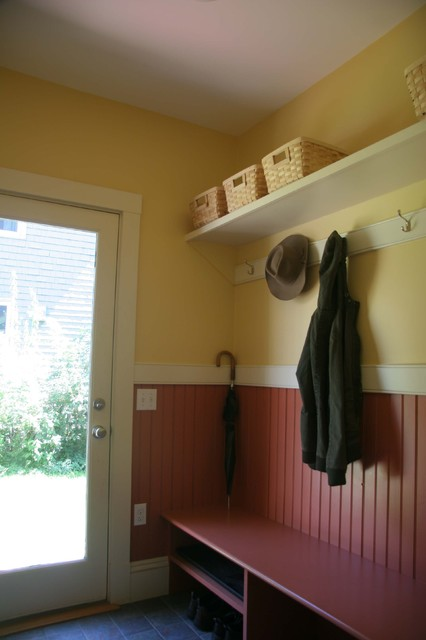 Wainscot In Mudroom