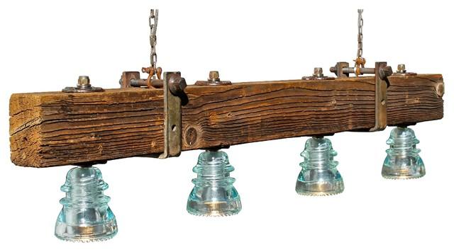 Led Telephone Pole Chandelier Rustic Chandeliers