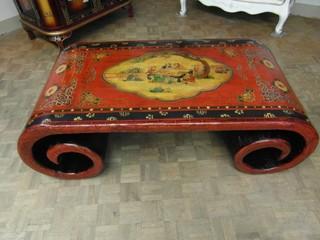table basse a rouleau tibetaine asiatique montpellier par meubles chinois laques tibetains copies d anciens