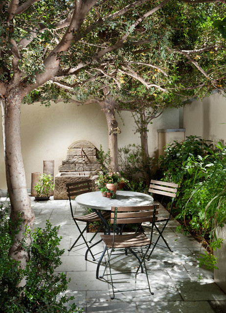 Indoor Courtyards (Mediterranean Style) - Mediterranean ... on Small Mediterranean Patio Ideas id=35222