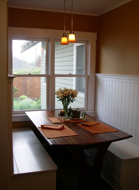 Bungalo Eating Nook Traditional Dining Room Portland