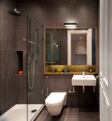 Luxury Apartment in Queen s Gate   Contemporary   Bathroom   London     Luxury Apartment in Queen s Gate contemporary bathroom