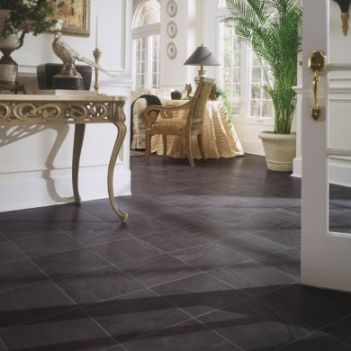 Black Slate laminate floor   Traditional   Other   by DuPont Black Slate laminate floor traditional