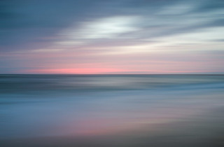 """""""The Colors of Evening on the Beach"""" Landscape Photo Wall Art 20""""x24"""""""