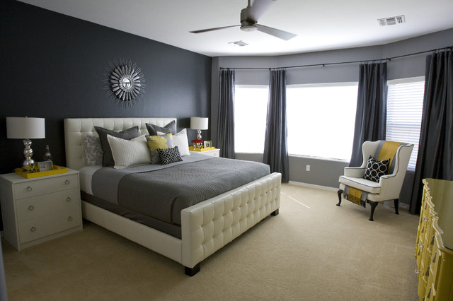 michelle's master bedroom. - contemporary - bedroom - salt lake