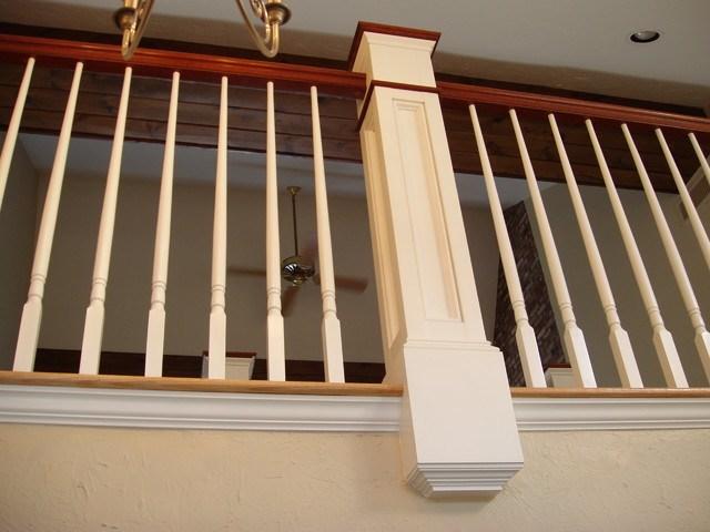 Custom Mahogany Handrail | Mahogany Handrails For Stairs