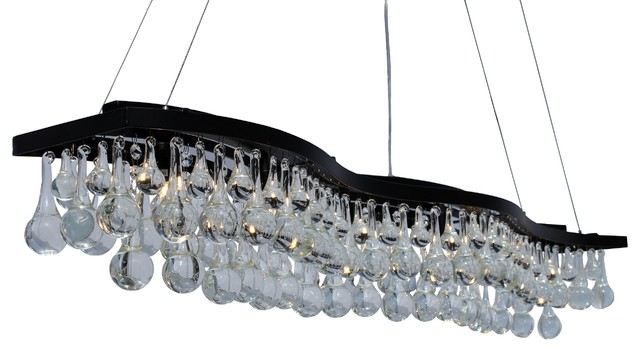 Double S Chandelier Contemporary Chandeliers