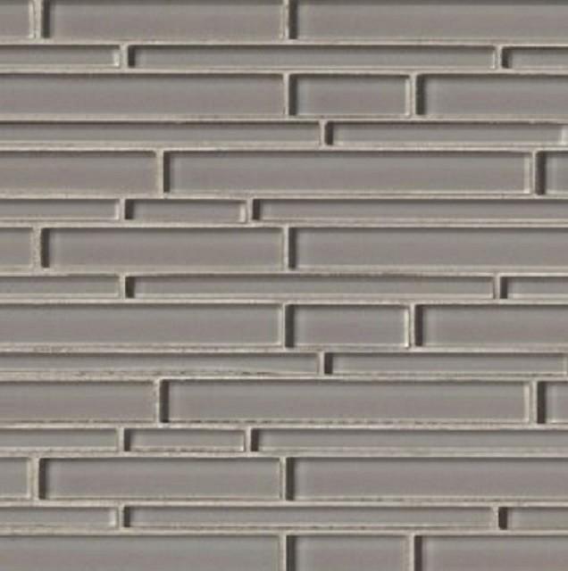 pebble interlocking grey crystallized glass mosaic tile backsplash 12x12 8mm