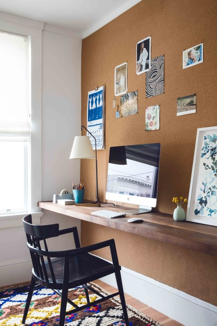 Church Street Residence transitional-home-office