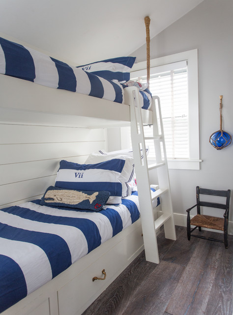 Nantucket Small Cottage beach-style-bedroom