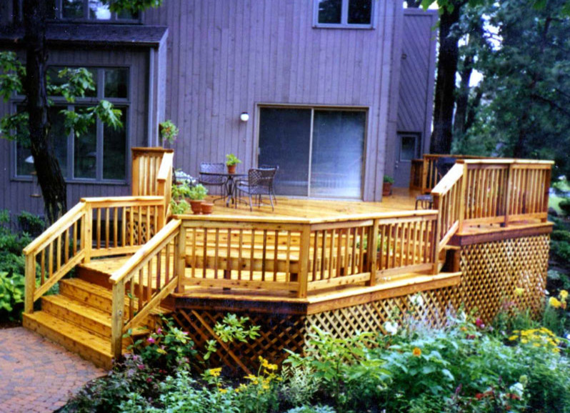 Our Work - Traditional - Deck - Chicago - by D & M Outdoor ... on D&M Outdoor Living Spaces id=32306